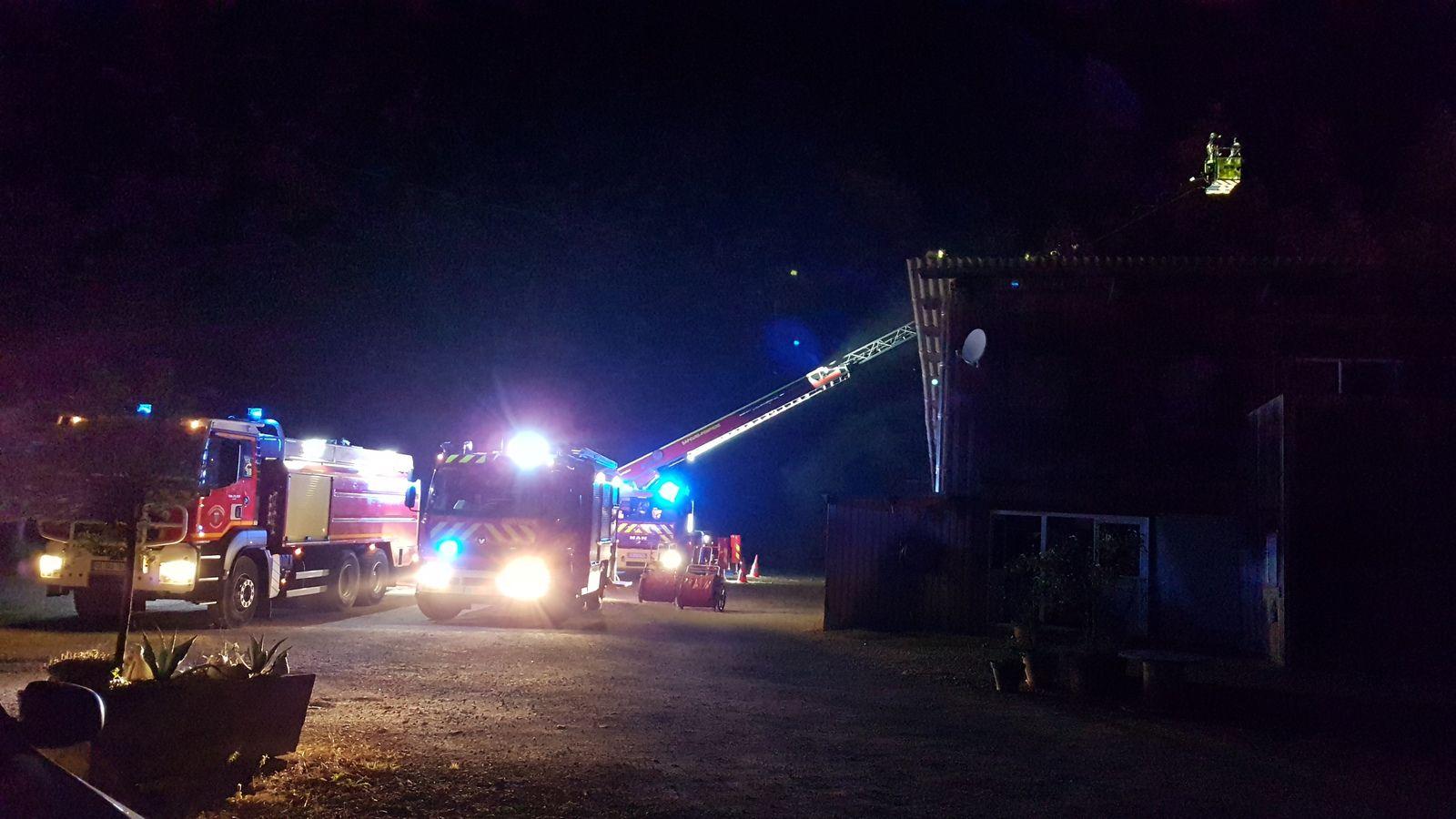 Cassagne. Un incendie désastreux a la bergerie des Bessous