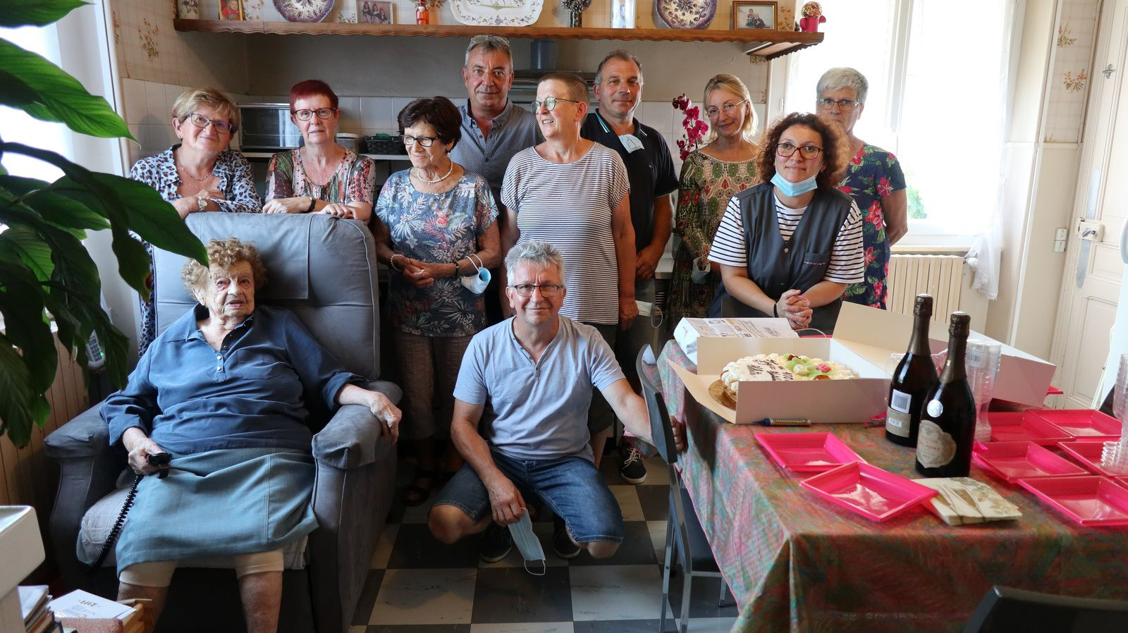 Montsaunes - les 100 ans d'Arlette Broué