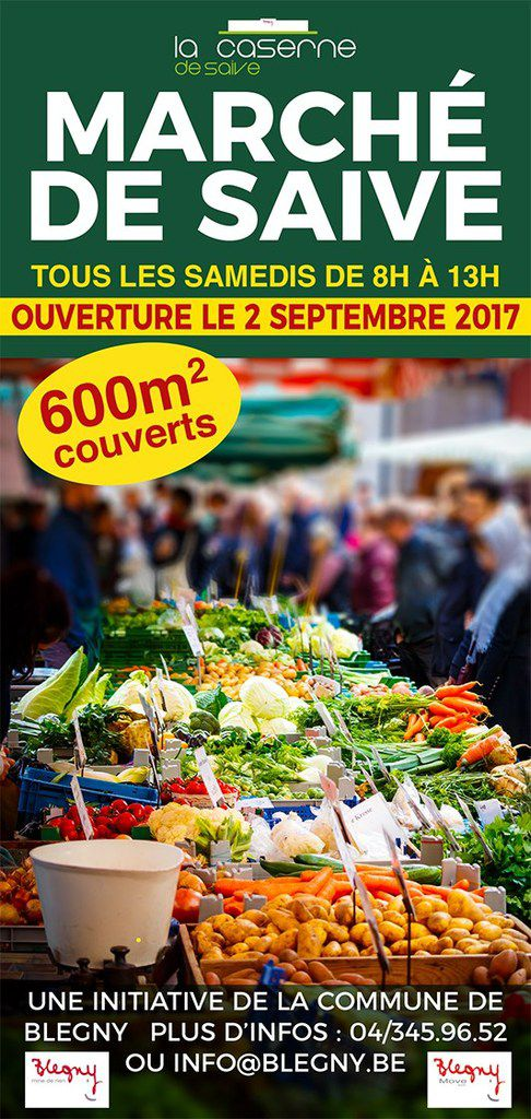 Affiche marché de Saive