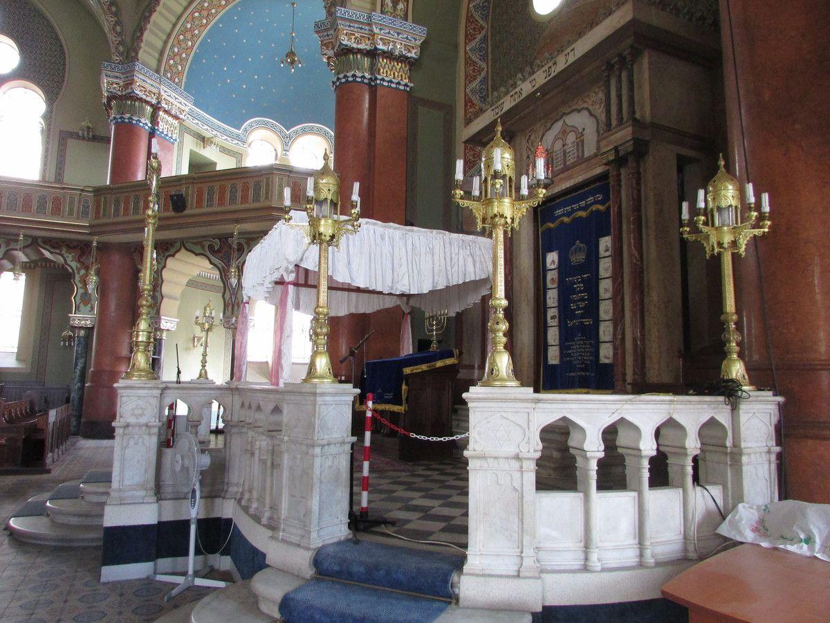 La synagogue de Sofia.