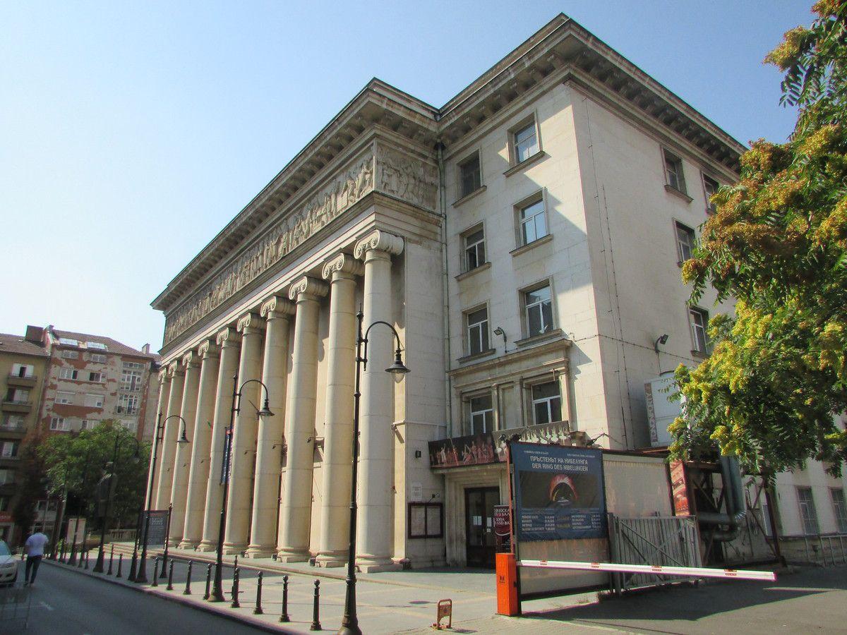 L'opéra national de Sofia.