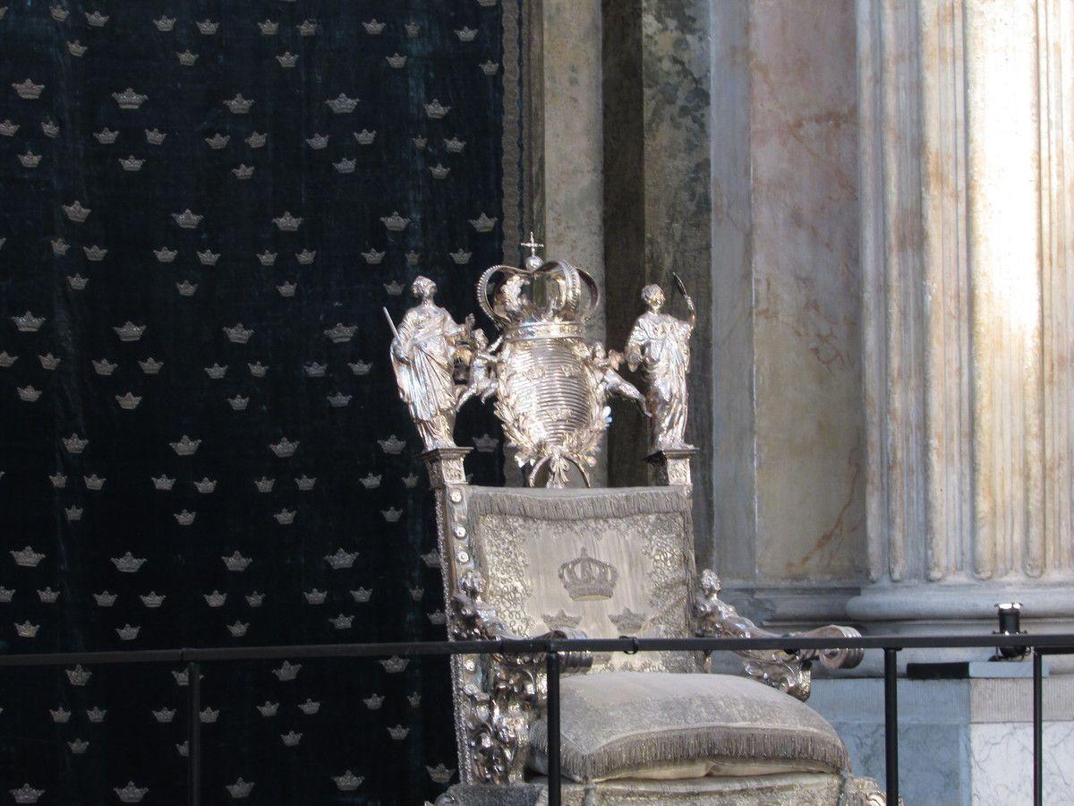 Le Château royal de stockholm (Les appartements)