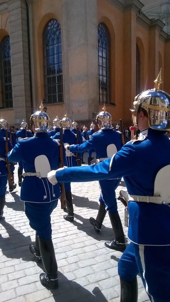 La garde royale de Stockholm