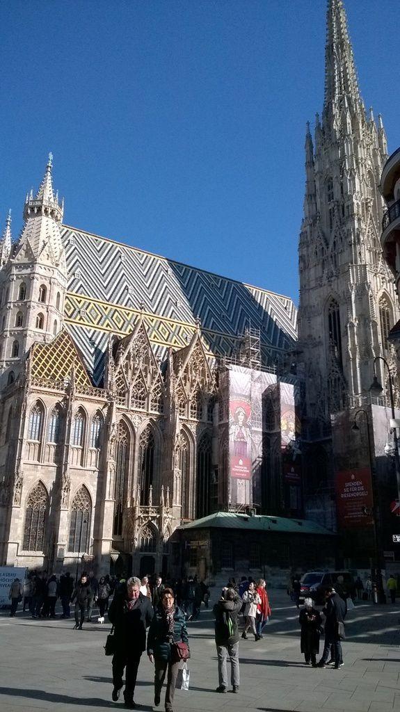 La Cathédrale STEPHANSDOM de VIENNE.