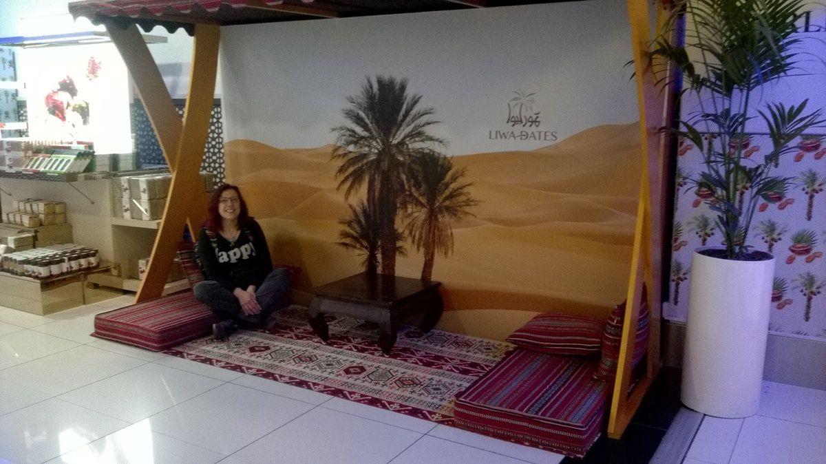Escale à Abou Dhabi.