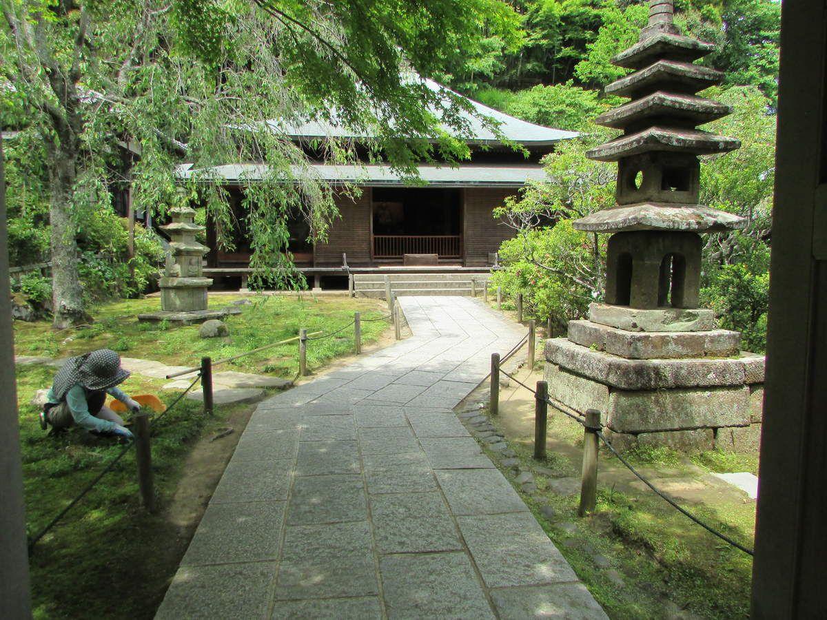 Le temple Tokei-Ji de Kamakura.