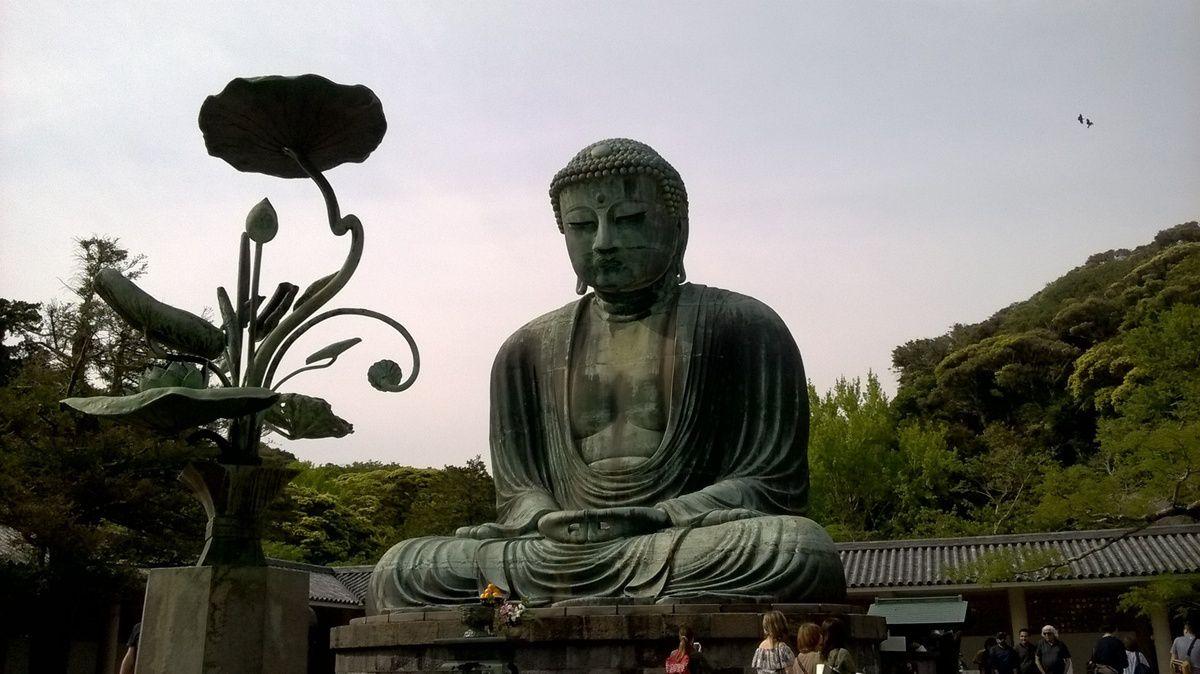 Le Daibutsu de Kamakura.