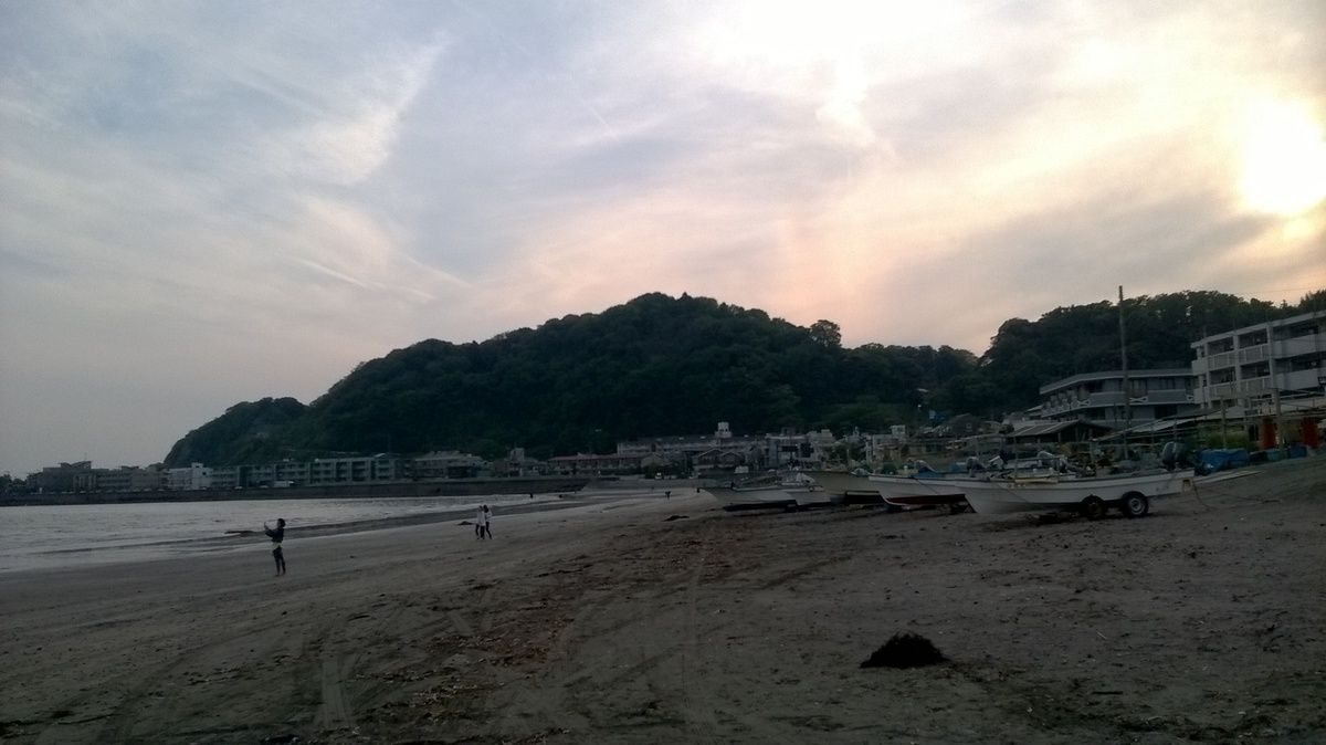 Kamakura Plage.