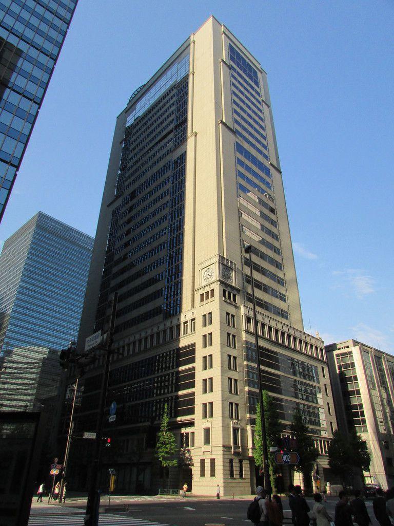 Le quartier Marunouchi de Tokyo.