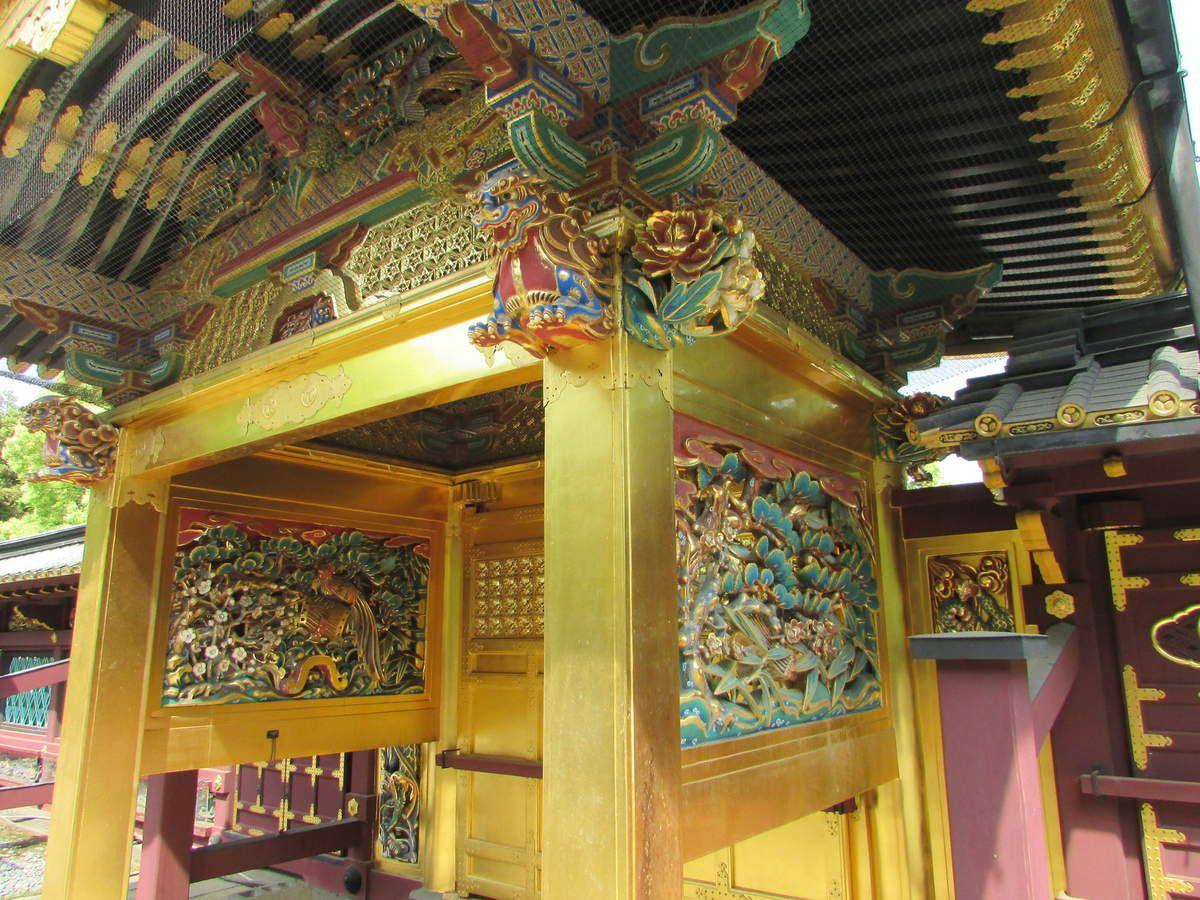 Le sanctuaire Togoshu du parc Ueno.