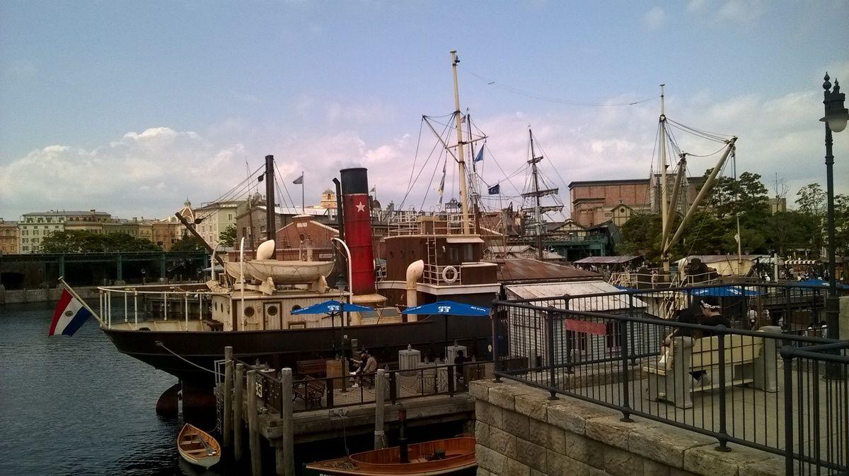 American Waterfront de Tokyo Disney Sea.
