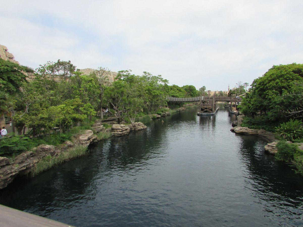 Le Lost River Delta de Tokyo Disney Sea.