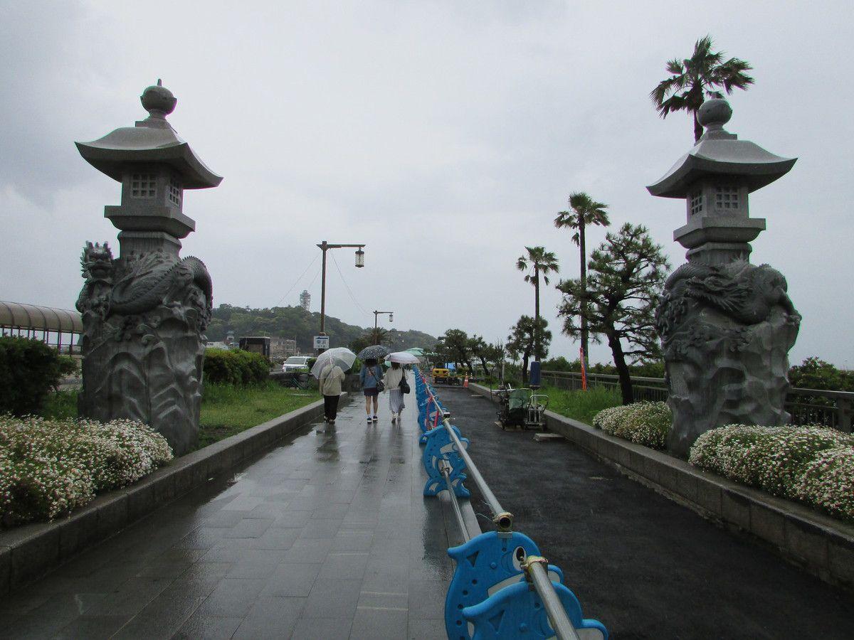 Visite de l'île d'Enoshima.