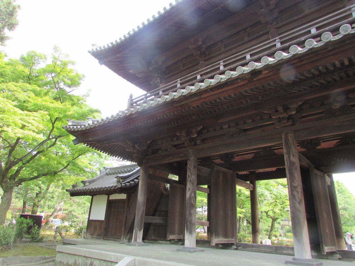 Le temple Kennin-Ji de Kyoto.