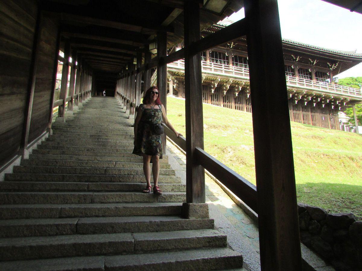 Le temple Todai-Ji de Nara.