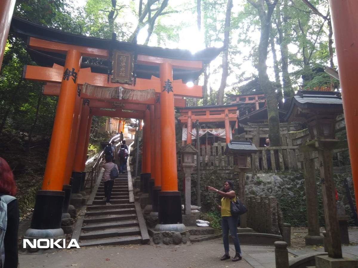 Le sanctuaire Fushimi-Inari de Kyoto.