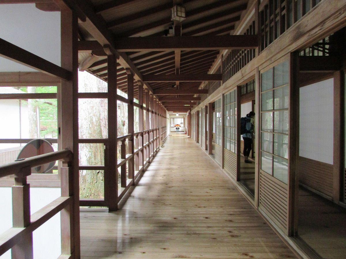 Le temple Kongobuji de Koyasan.