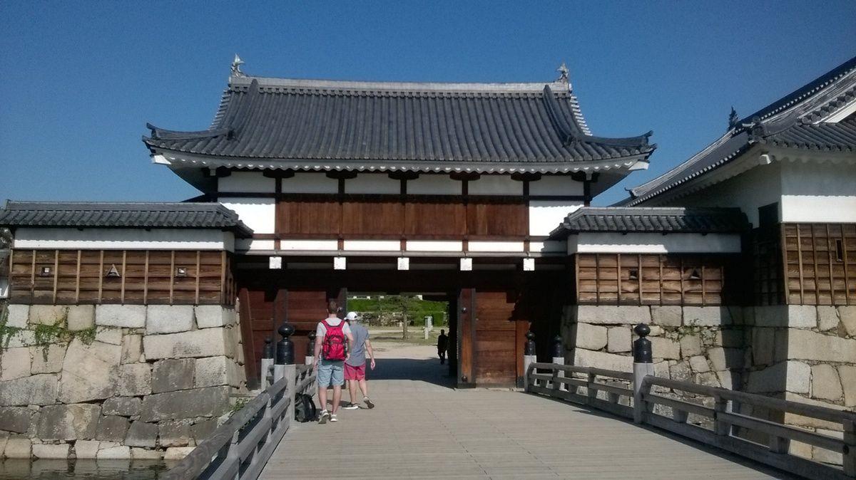 Le château d'Hiroshima.