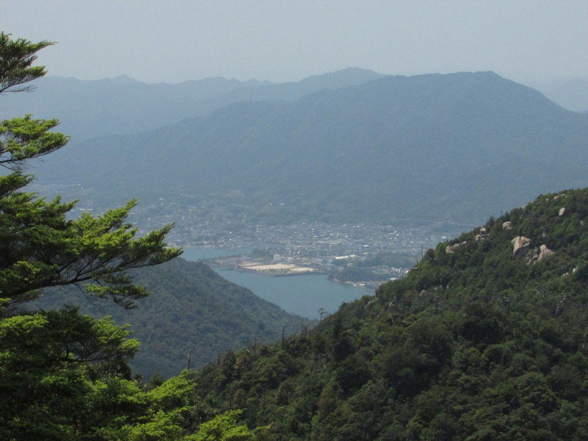 L'observatoire du mont Misen à Miyajima.