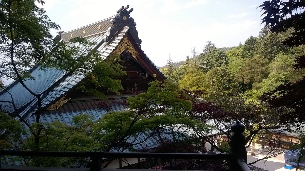 Le temple Daisho-In de Miyajima.
