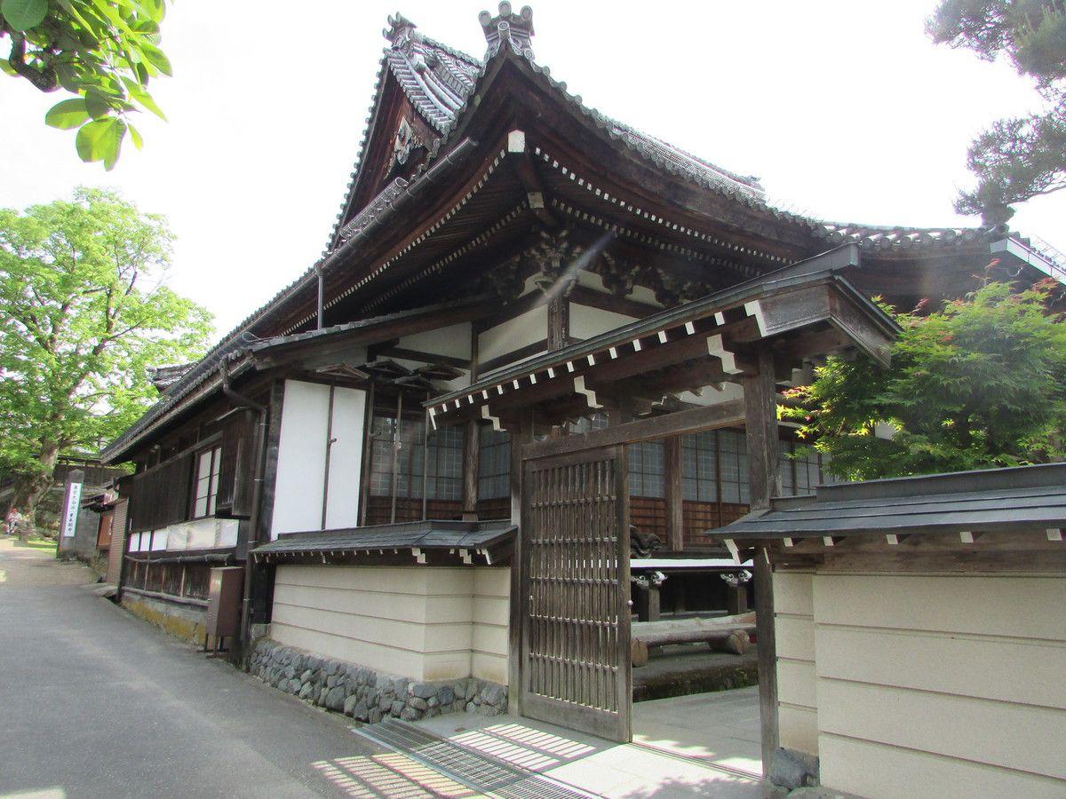 Le sanctuaire Sakurayama de Takayama.