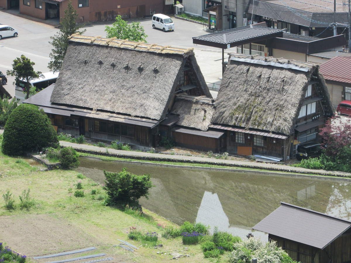 Excursion au village de Shirakawa-Go.