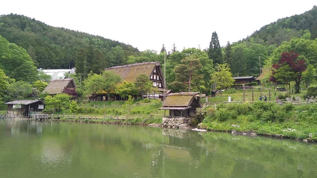 Le village folklorique d' Hida.