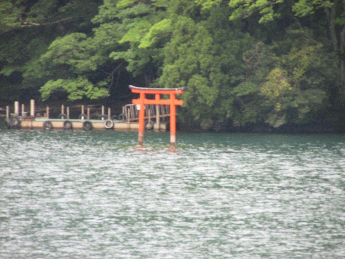 Croisière sur le lac Ashi d'Hakone.
