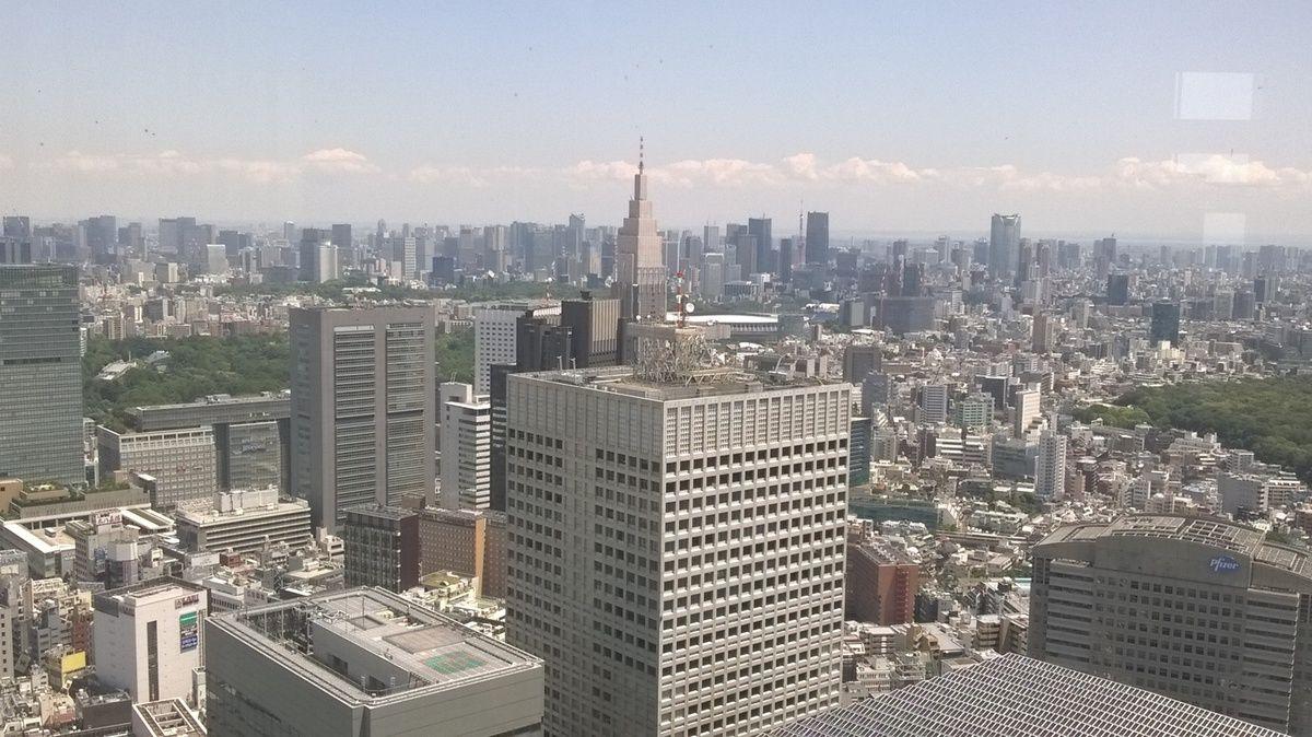 Vues Panoramiques sur Tokyo.