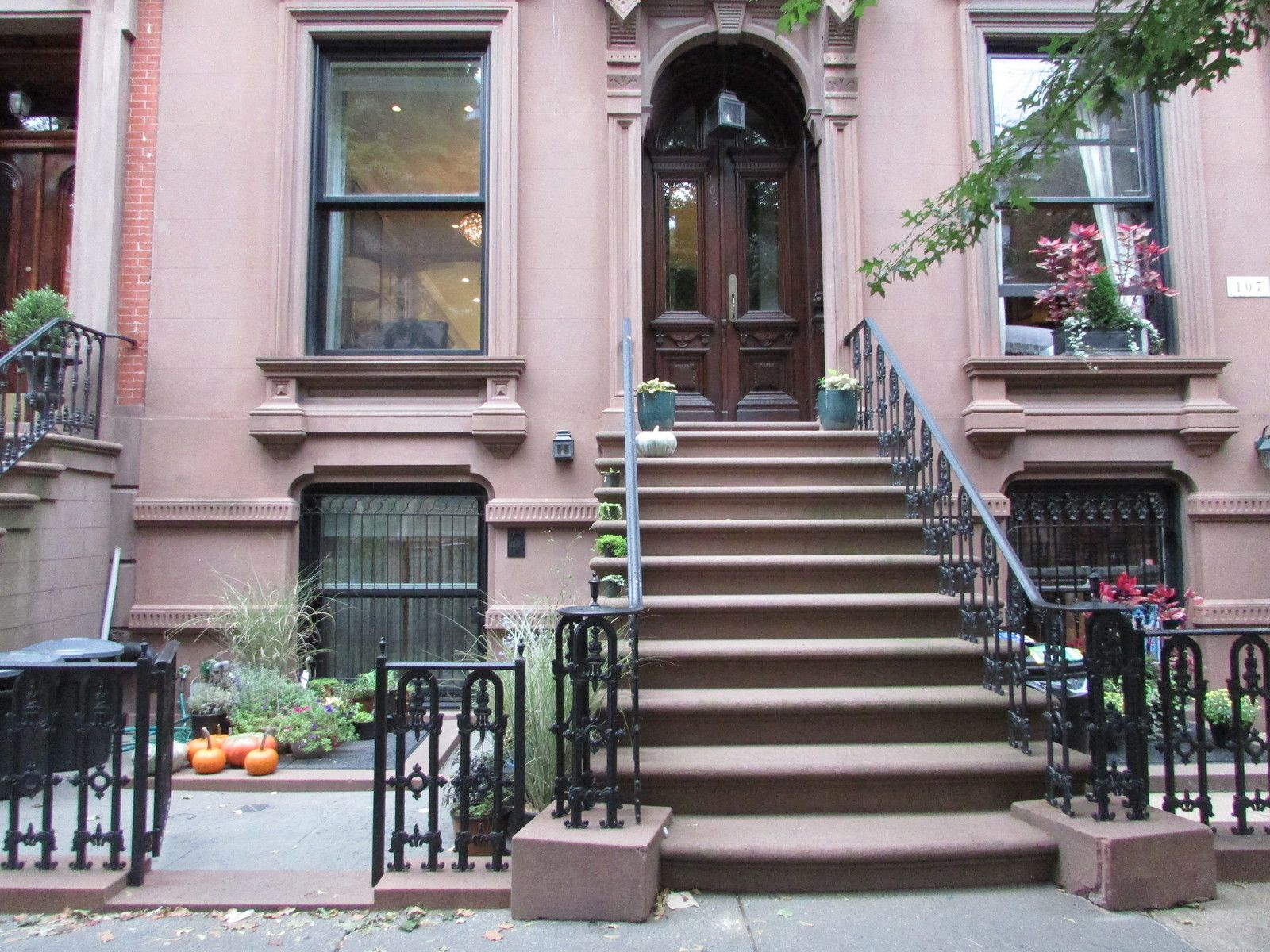 Promenade dans le quartier de Brooklyn Heights