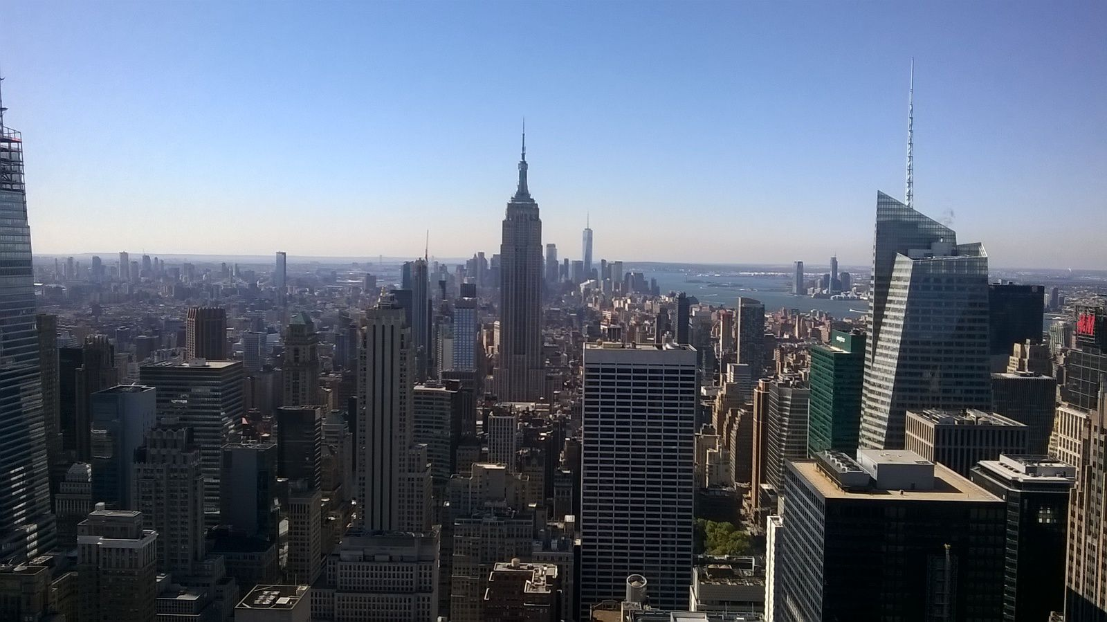 The Top of the Rock.