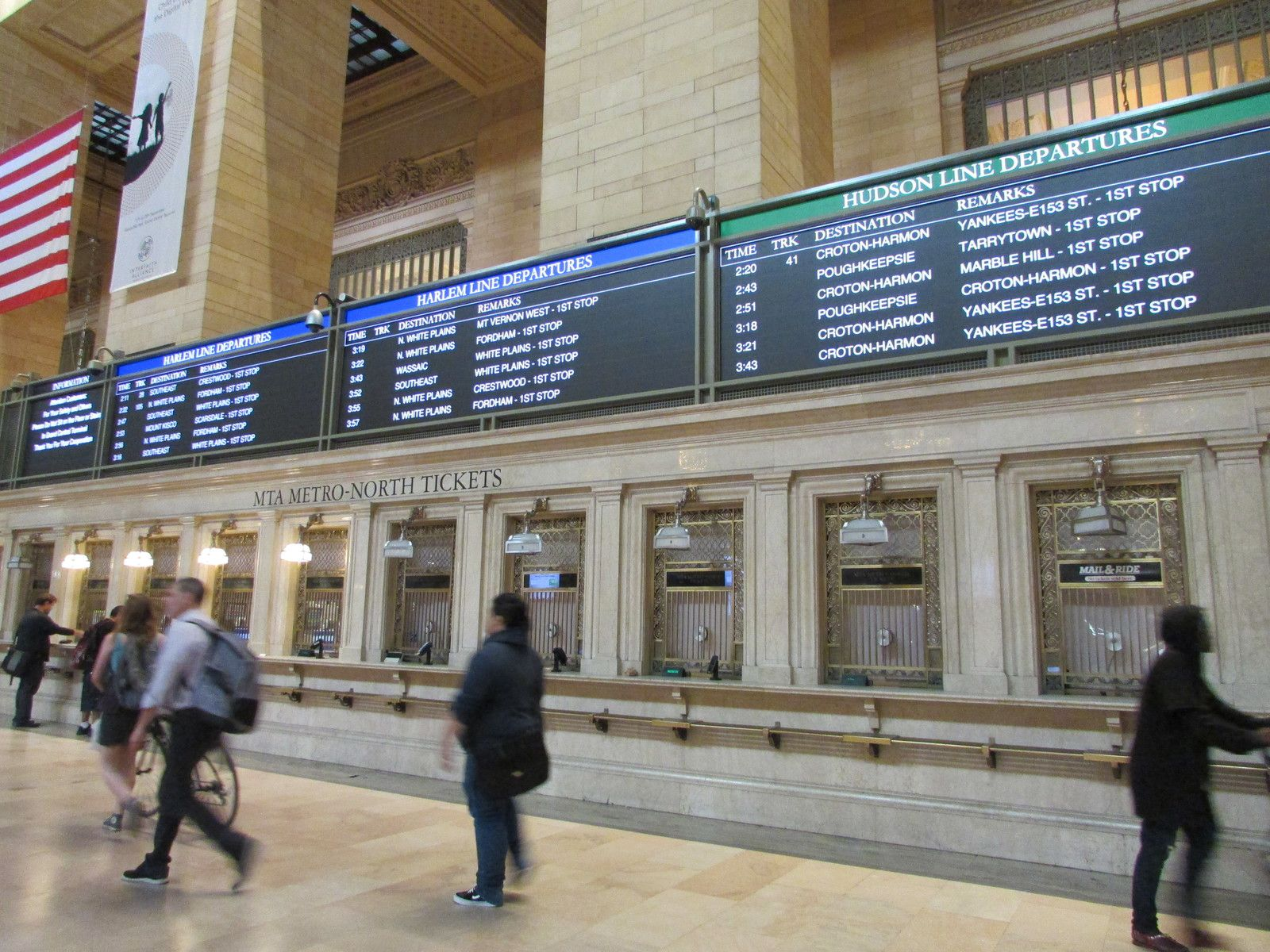 Le Grand Central Terminal.