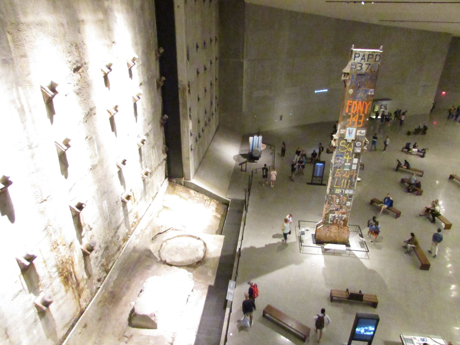 Le musée du World Trade Center.