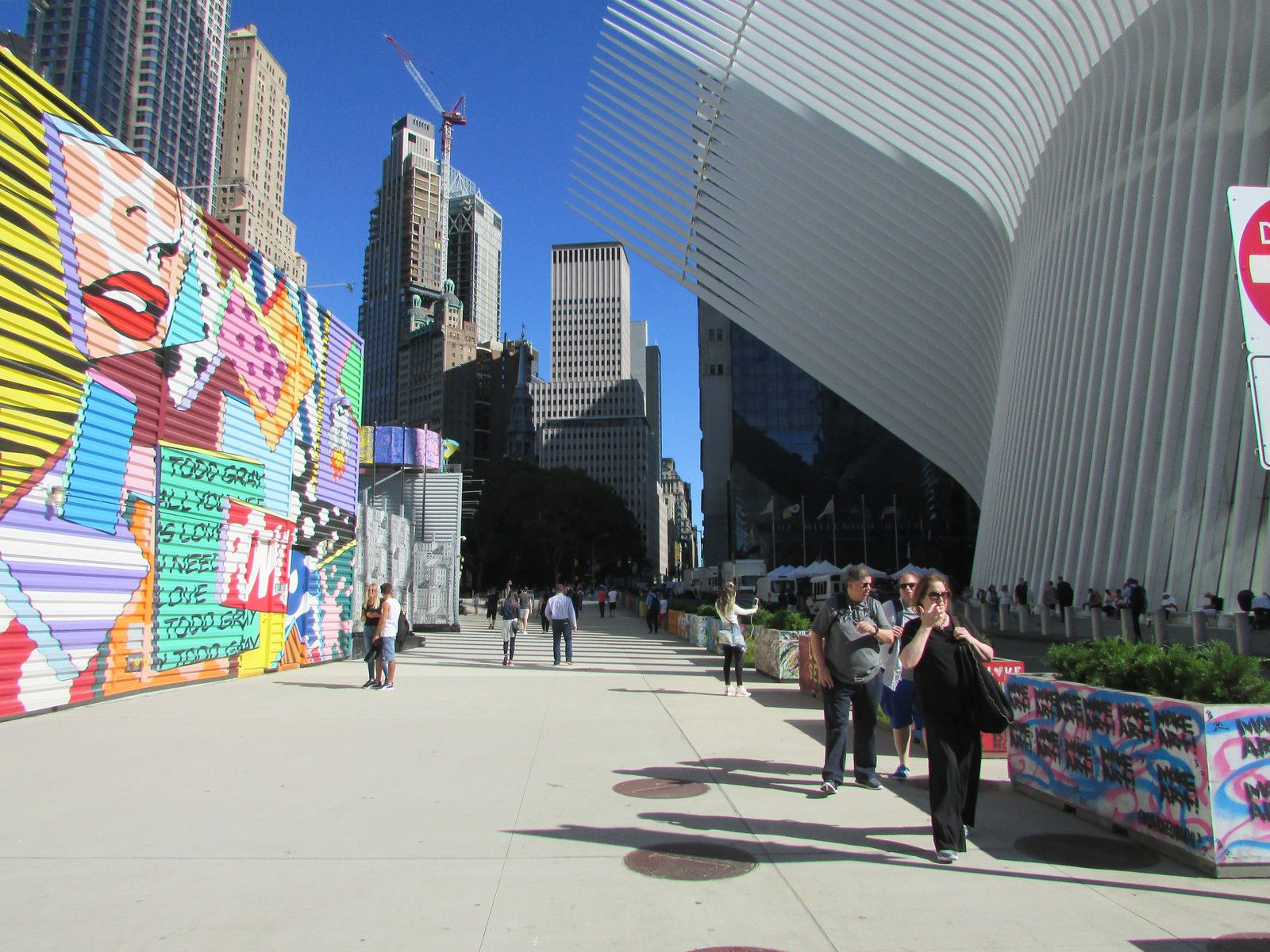 Le complexe commercial du World Trade Center.