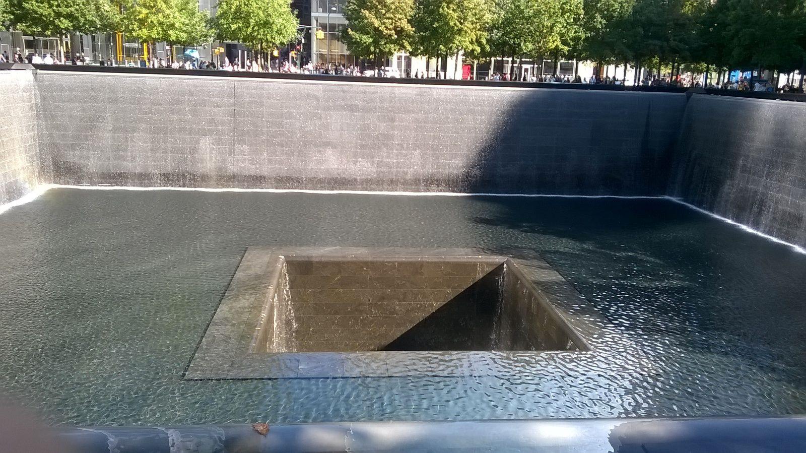 Le mémorial du 11 septembre 2001.
