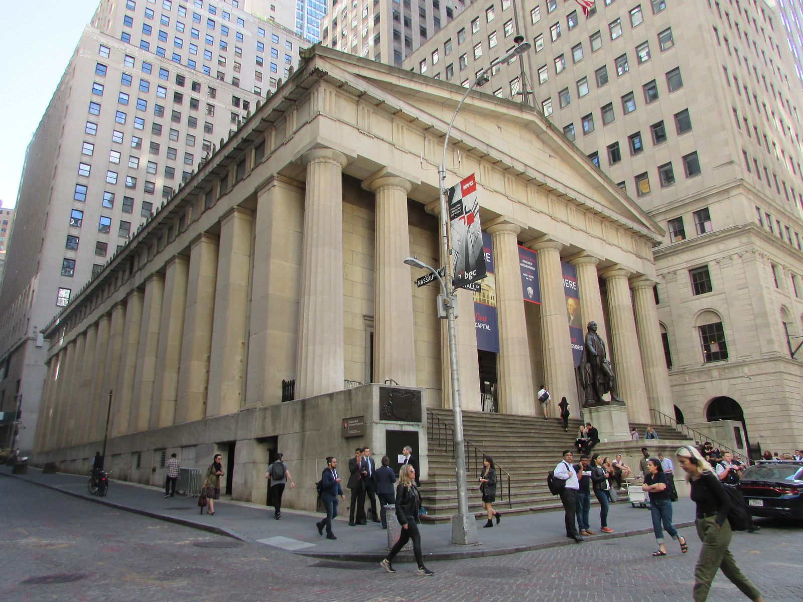 Le Federal Hall National Memorial.