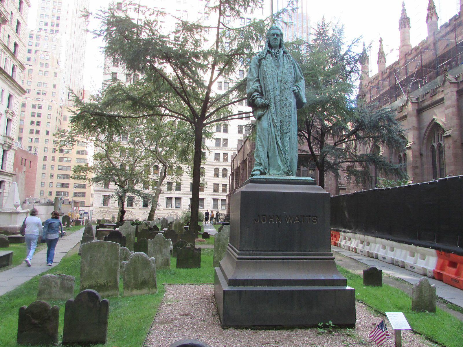 The Trinity Church of Manhattan.
