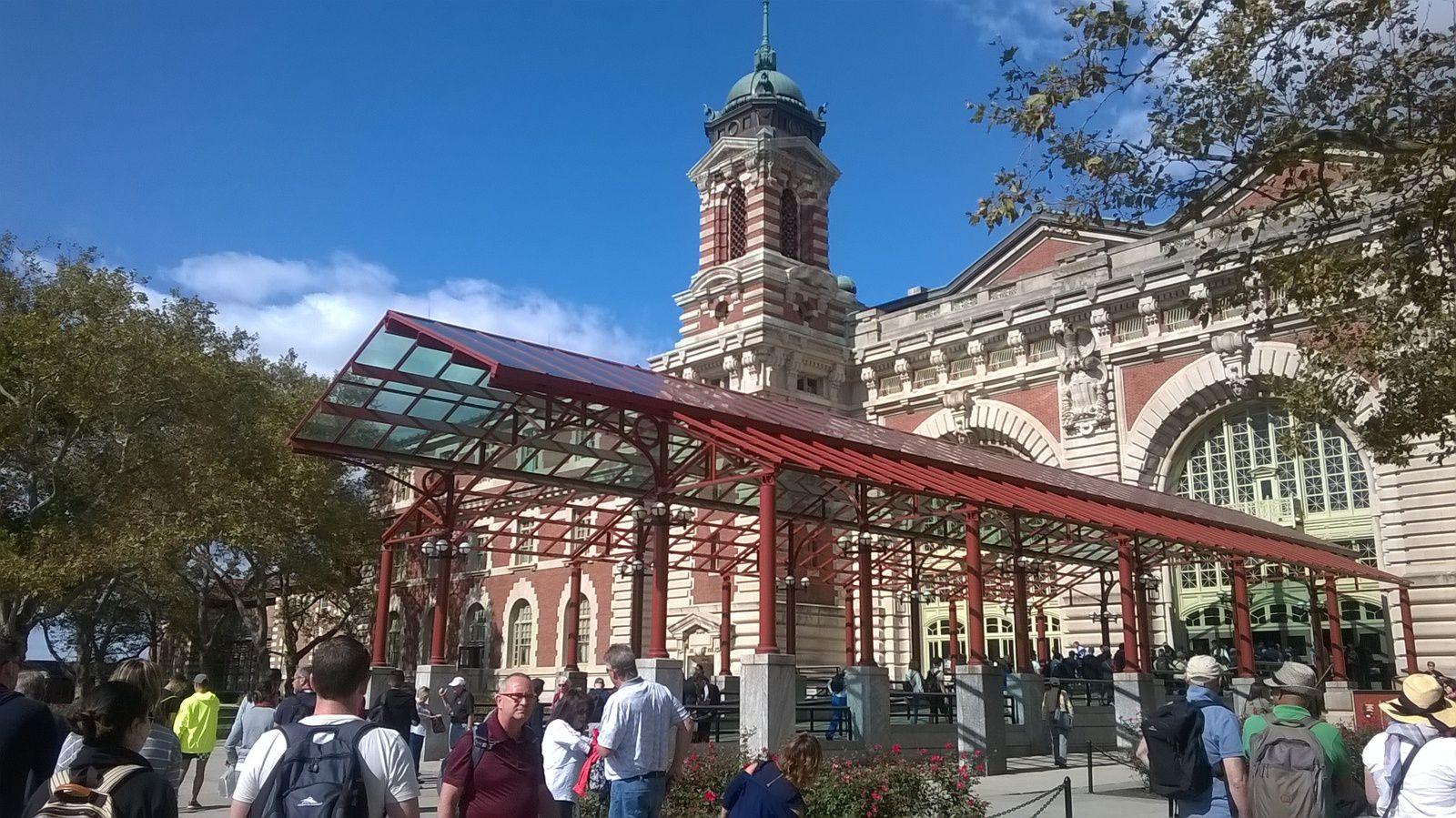 La visite du musée national de l'immigration.