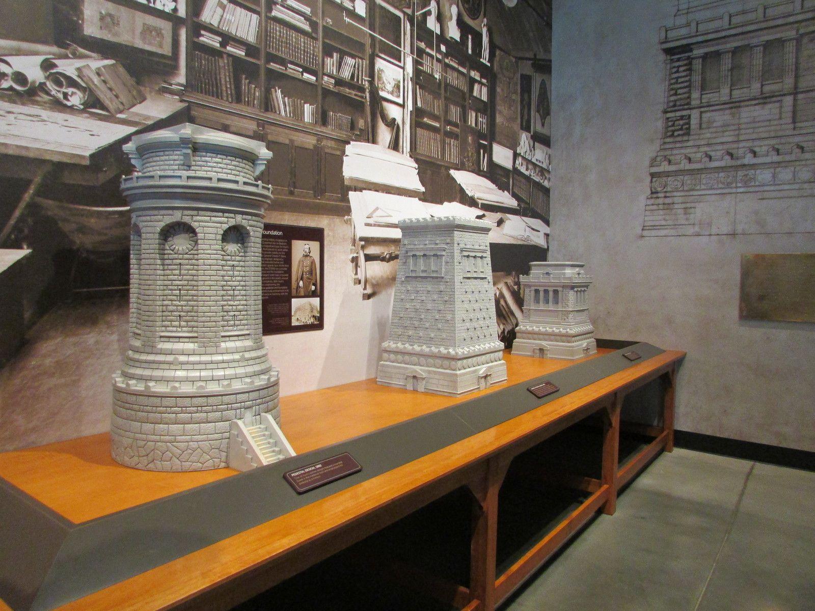 Le musée de la statue de la Liberté.