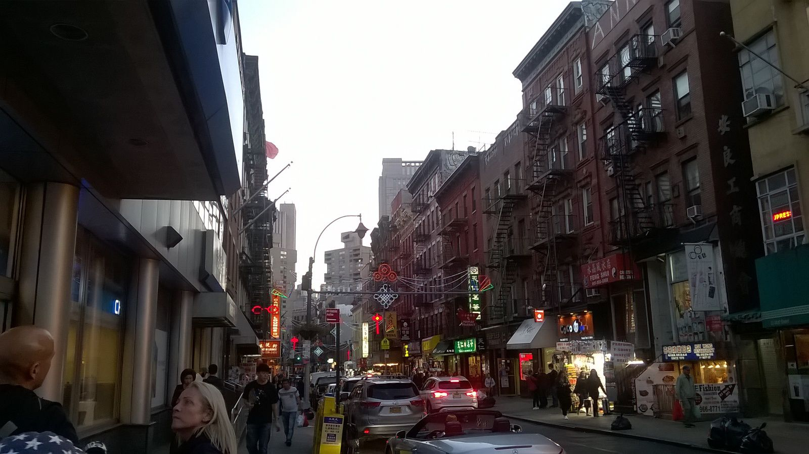 Le quartier chinois de Manhattan.