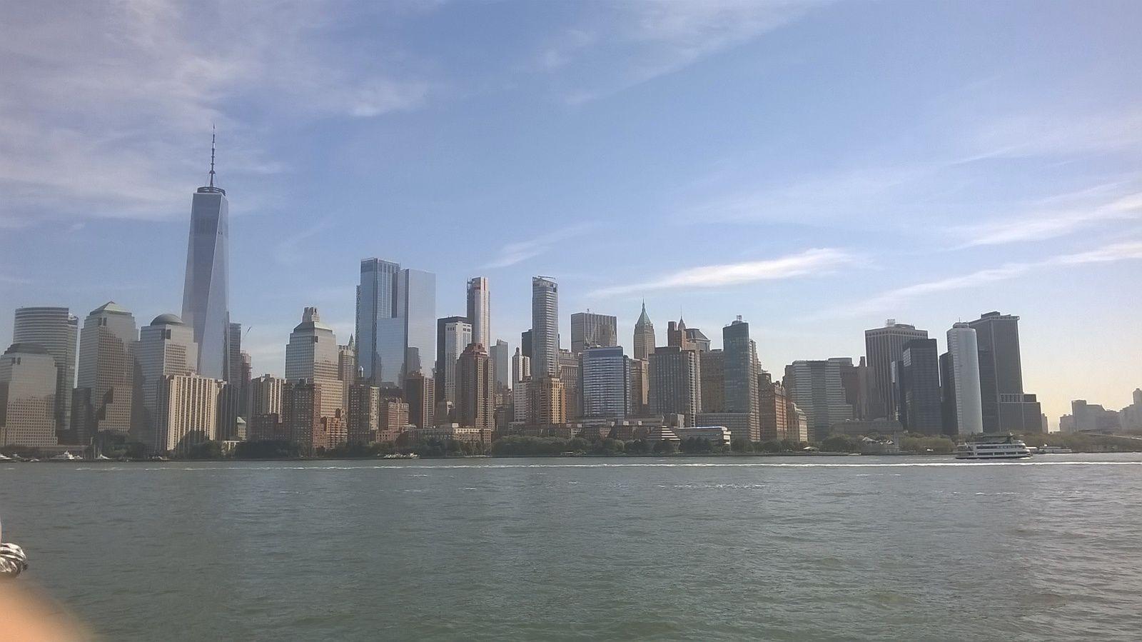 Croisière sur la baie de New York.
