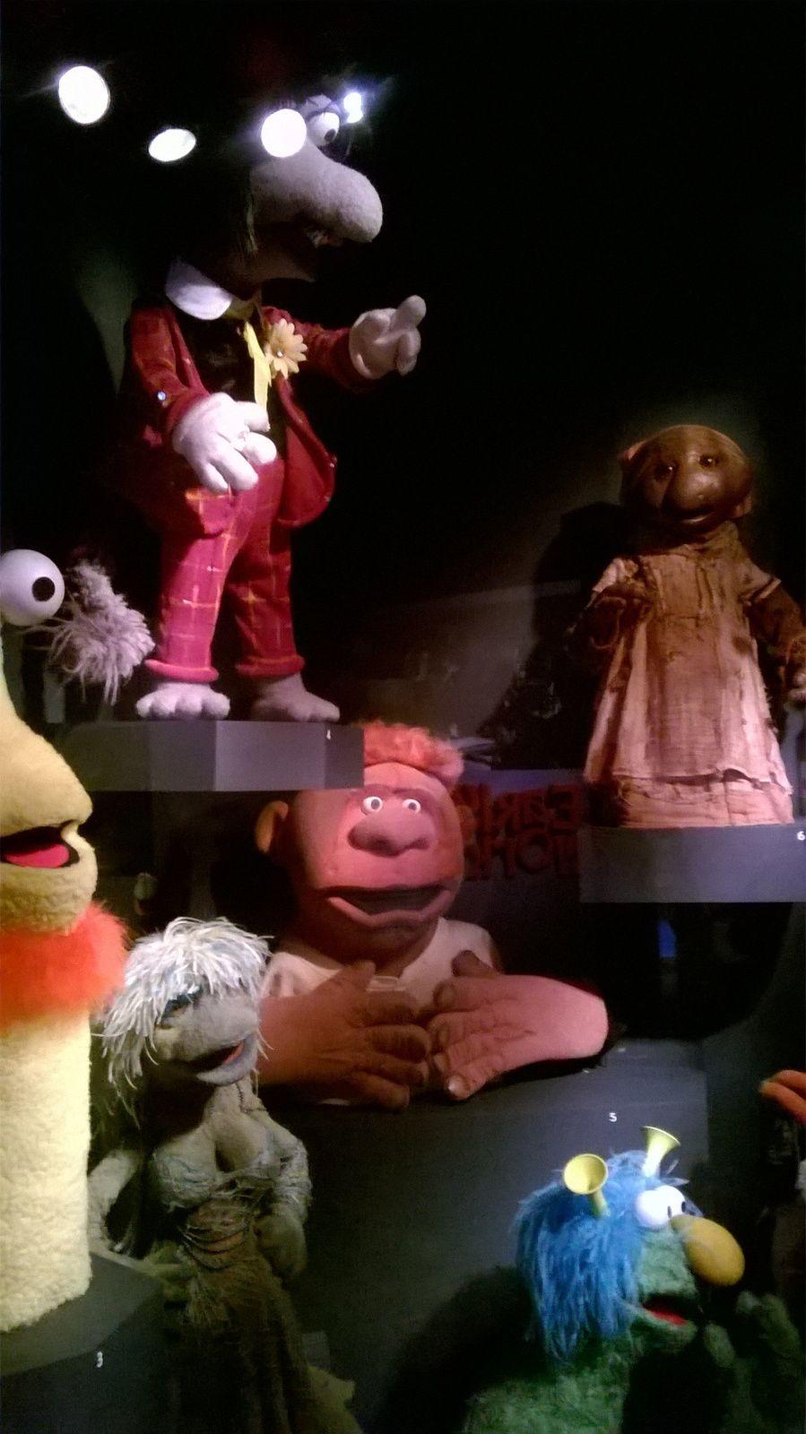Visite du Museum of the Moving Image (1ère partie).