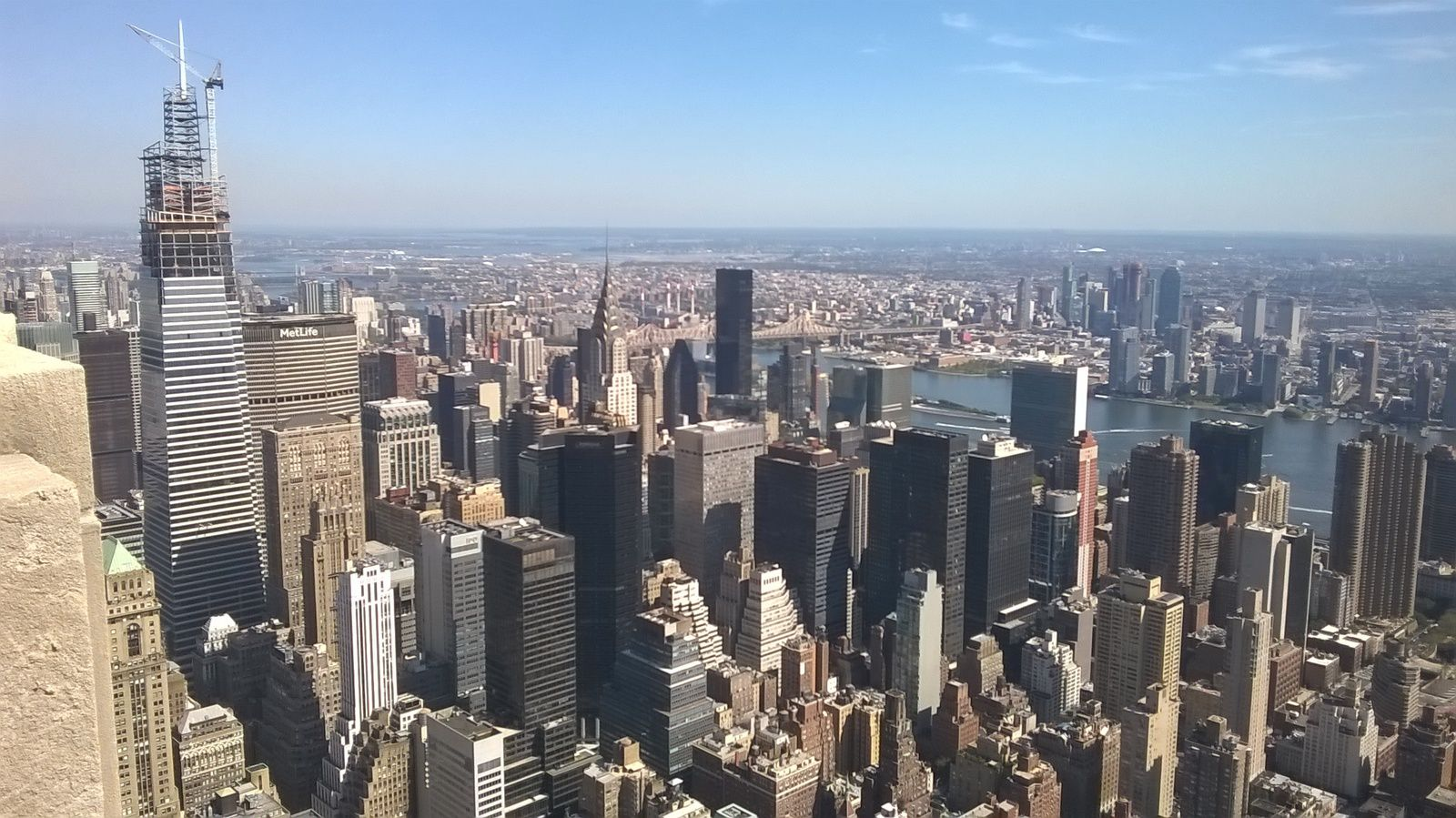 Visite de l'Empire State Building (Vue panoramique).