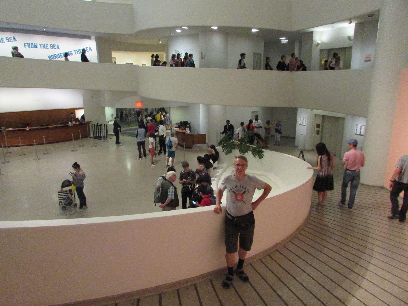 Visite du célèbre musée Guggeheim (2ème partie)