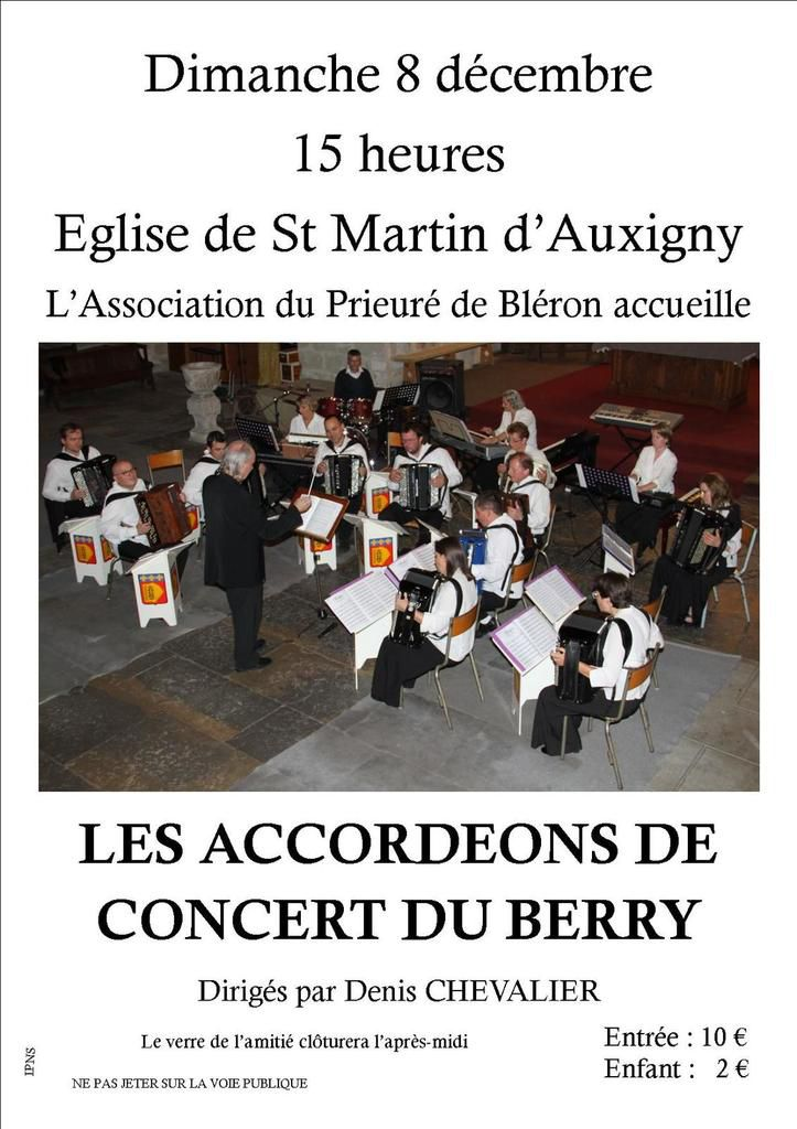 Les Accordéons de concert du Berry