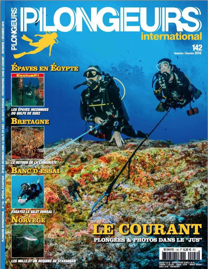 couverture numéro 142 de Plongeurs International