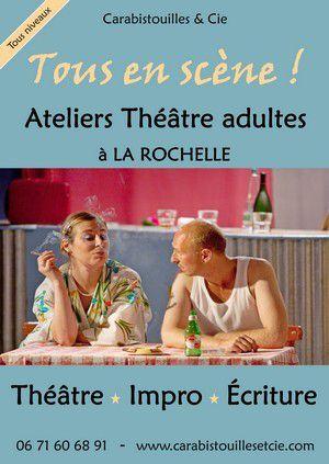 Nouvelle saison ! Programme des Ateliers théâtre 2019-20