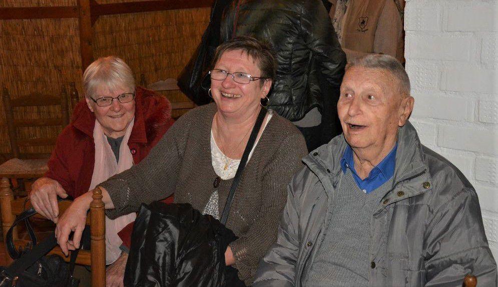 Natacha, Arlette et René CHAVANIEU (photo Fabrice TORRITO)