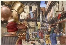 La pollution des villes au Moyen Age... Immondices et créations des fameuses buttes à Paris...