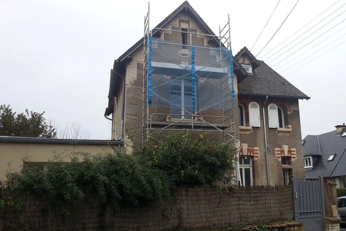 Ravalement de façade Caen